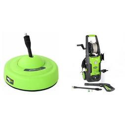 GreenWorks 1700 PSI 1.2 GPM Pressure Washer + Surface Cleane