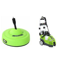 GreenWorks 1950 PSI 1.2 GPM Pressure Washer + Surface Cleane