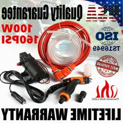 12V 100W Portable 160PSI High Pressure Car Yard Electric Was