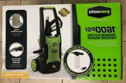 Greenworks 1600 PSI Premium Electric Power Washer New in Box