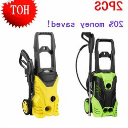 1Pair 3000psi Electric Power Pressure Washer 5 Nozzles Deter