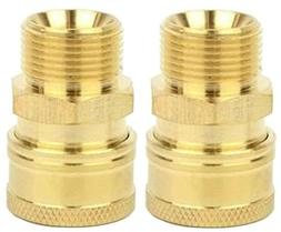 "3/8"" Couplers M22 Metric/15mm for Pressure Washer Hose Sun"