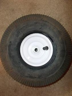 2) 4.10x3.50-4 Tire WHEEL Cheng Shin GO KART WAGON  POWER WA