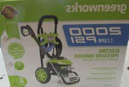 Greenworks 2000 PSI Electric Pressure Washer  Powerful 13 Am