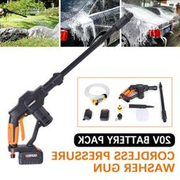 20V Pressure Washer Cordless Power Portable Cleaner Speed Cl