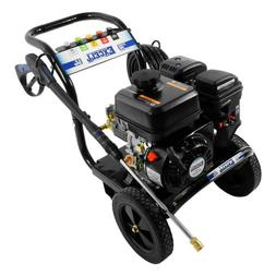 Excell 212cc OHV Gas Powered Engine Cold Water Pressure Wash