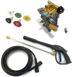 2800-3000 PSI 2.5 GPM Power Washer Pump & Spray Kit w Hose f
