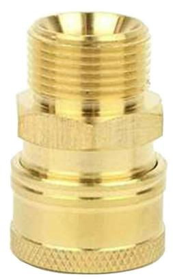"3/8"" Coupler Adapter M22 Metric/15mm for Pressure Washer Hos"