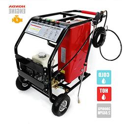 STKUSA 3,000 PSI 2.6 GPM High Pressure Washer w/Hot and Cold