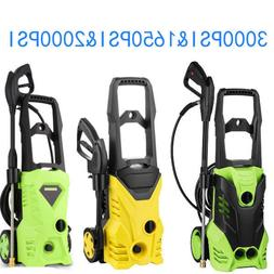 3000/2000PSI High Power Water Electric Pressure Washer 1.7 G