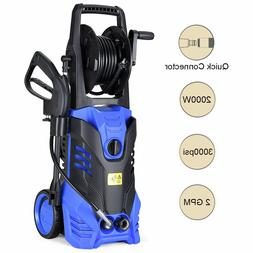 3000 PSI 2.0 GPM Power Water Electric Pressure Washer Kit w/