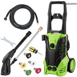 3000PSI High Power Water Electric Pressure Washer 1.7 GPM Cl