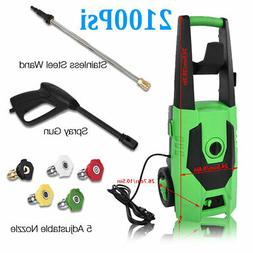 3000PSI 1.7GPM Electric Pressure Washer High Power Water Cle