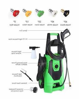 3000PSI 1.8 Gpm Electric Pressure Power Washer Hose Detergen
