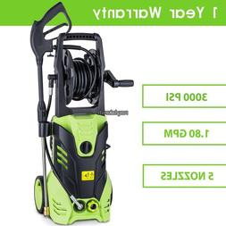 3000PSI ELECTRIC PRESSURE WASHER POWER JET WASH POWERFUL OUT