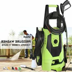 3000PSI High Power Water Electric Pressure cleaner 1.8GPM Ma