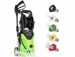3000PSI High Power Water Electric Pressure Washer 1800W 1.7