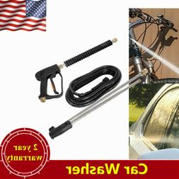 3000PSI High Pressure Car Power Washer Spray Gun w/2x Extens