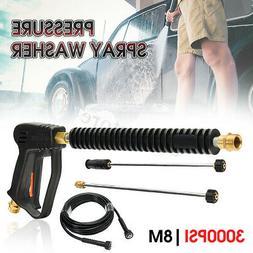 3000PSI High Pressure Car Power Washer Spray Gun Water Exten