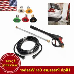 3000PSI High Pressure Car Power Washer Spray Gun Wand/Lance