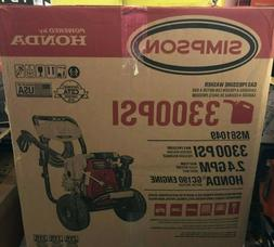 Simpson 300PSI 2.4GPM Gas-Powered Pressure Washer MS61049 BR