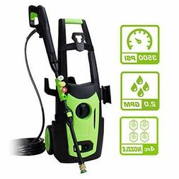 PowRyte 3500PSI 2.0 GPM Electric Pressure Washer, Electric P
