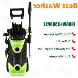 3500PSI 2.6 Gpm Electric Pressure Power Washer Hose Detergen
