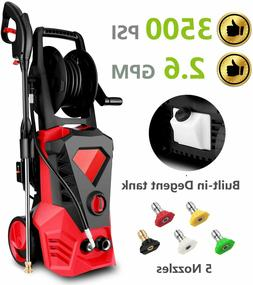 3500PSI 2.6GPM Electric Pressure Washer Home High Power Wate