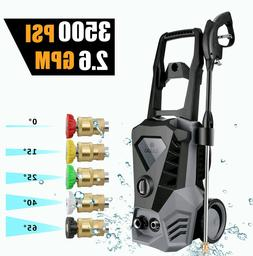 3500psi 2 6gpm electric pressure washer powerful