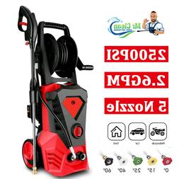 3500PSI 2.6GPM Electric Pressure Washer Powerful Water Clean