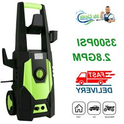 3500PSI 2.8GPM Electric Pressure Washer High Power Water Cle