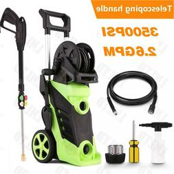 3500PSI 2.8GPM Electric Pressure Washer High Power Water Jet