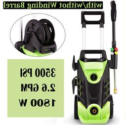 Homdox 3500PSI Electric Pressure Washer, 1800W Power Washer,