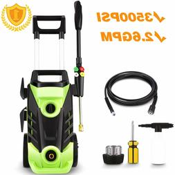 Homdox 3500PSI Electric Pressure Washer 1800W Power Washer 2
