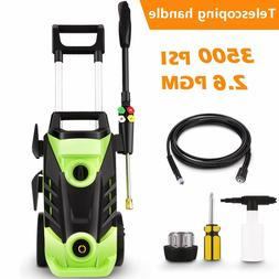 3500psi electric pressure washer 1800w power washer
