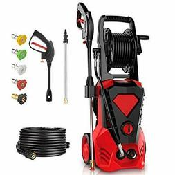 3500PSI Electric Pressure Washer 2.6GPM Power Washer 1800W H