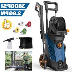 3800PSI 2.8GPM Electric Pressure Washer High Power Cold Wate