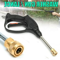 4000 PSI 8 GPM 1/4'' FPT High Pressure Washer Gun For Pressu