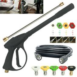 4000 PSI High Pressure Car Power Washer Spray Gun Wand Lance