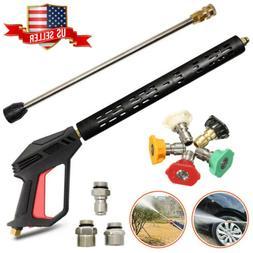 4000 PSI High Pressure Car Power Washer Spray Gun Wand M22 L