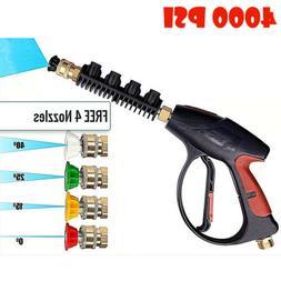4000 PSI Power High Pressure Water Car Washer Spray Gun Lanc