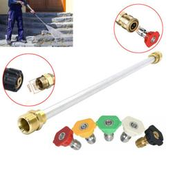 4000PSI Gas Gasoline High Pressure Power Washer Wand Lance &