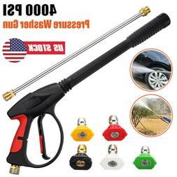 4000PSI High Pressure Car Power Washer Spray Gun Wand/Lance