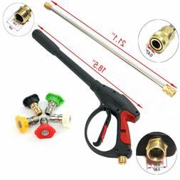 4000psi high pressure power washer spray gun