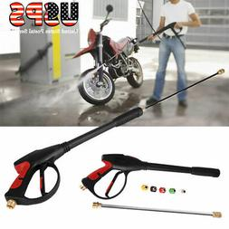 4000PSI High Pressure Power Washer Spray Water Gun Wand Lanc