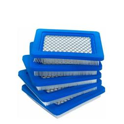 5 Pcs Lawn Mower Air Filter Replacement For Briggs Stratton