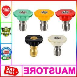 5 Sets Pressure Power Washer Nozzle Universal Troy-Bilt Hond