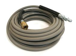 50' Hose - 4000 PSI, Gray, Non-Marking with Couplers for Pow