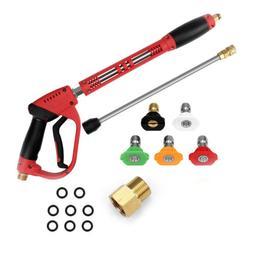 5200PSI High Pressure Car Power Washer Spray Gun Wand/Lance