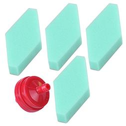 Harbot Pack of 4 797301 Air Filter with 394358S Fuel Filter